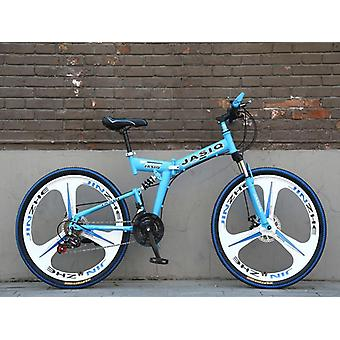 Folding Mountain Bicycle Double Disc Brake Bike New Folding Mountain Bike
