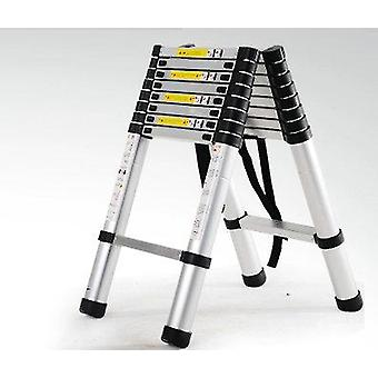 Fire Use Escape  Collapsible Aluminum Alloy Upright Ladder