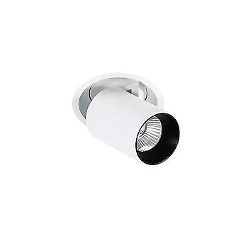 Italux Merge 4000K - Moderno led tecnico soffitto da incasso bianco, nero, bianco freddo 4000K 840lm