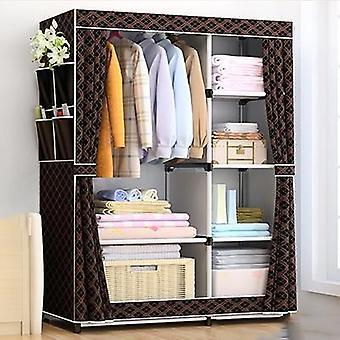Diy Non-woven Fold Portable Storage, Quarter Wardrobe, Cabinet Bedroom