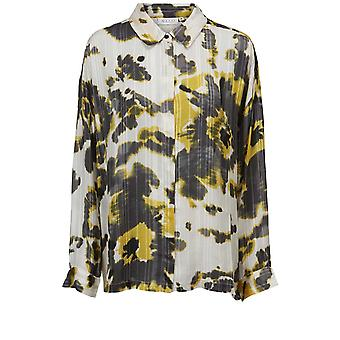 Masai Clothing Ibily Yellow Tie Dye Shirt