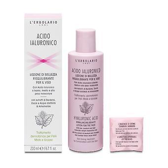 Hyaluronic Acid Rebalancing face lotion 200 ml