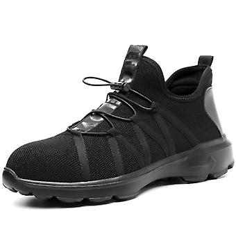 Safety Boot Air Mesh, Men's Shoes Steel Toe, Puncture-proof, Work Sneakers