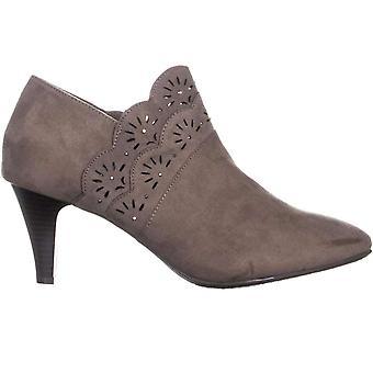 Karen Scott Womens Marana tissu amande Toe cheville Fashion bottes