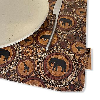 Cork Dining Table Mat Mat To Table