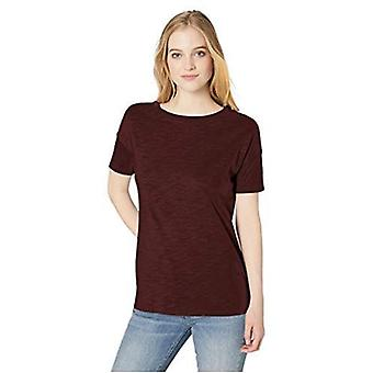 Marca - Daily Ritual Women's Lightweight Lived-In Cotton Short-Sleeve Drop-Shoulder Tunic