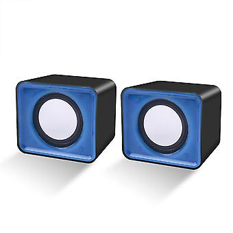 Mini Usb 2.0 Music Speaker For Multimedia Desktop Computer And Notebook