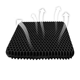 Ergonomic Gel Seat Cushion for Long Sitting, Wheelchair Cushion for Relieving Back Pain