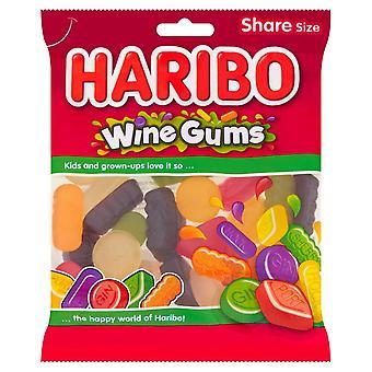 HARIBO Wine Gums Fruit Flavour, 160g Bag