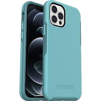 Otterbox Symmetry Back cover Apple iPhone 12, iPhone 12 Pro Turquoise blue