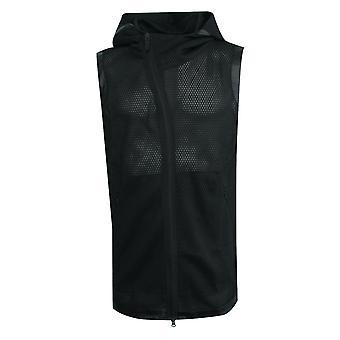 Adidas Mens James Harden Çılgın X Hoody Mesh Zip Up Siyah AZ4041 A13E