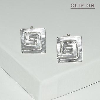 Square Spiral Clip On