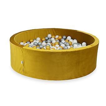 XXL Ball Pit Pool - Velvet Gold #24 + taška (200-700 loptičiek)