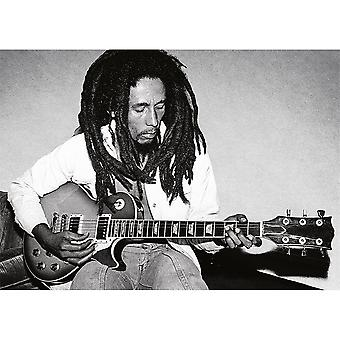 Bob Marley Redemption Song Postcard