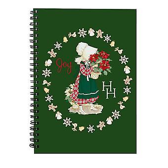 Holly Hobbie Christmas Joy Spiral Notebook