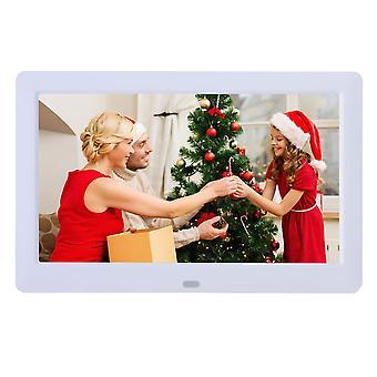 Digital photo frame high resolution 1280x720 ips lcd screen,calendar/clock function/mp3/photo/video