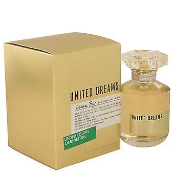 Соединенные мечты Мечта Большой По Benetton Eau De Toilette Спрей 2.7 унции / 80 мл (женщины)