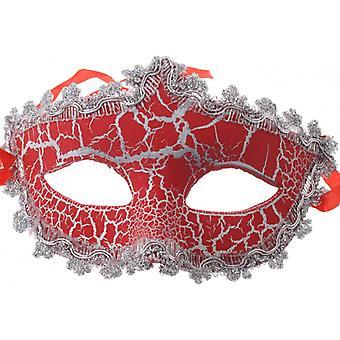 Venetian Mask Unisex Red
