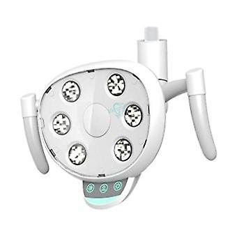 Dental Shadowless Lampe mit 6 High Power LED Glühbirnen Touch-Taste und Sensor