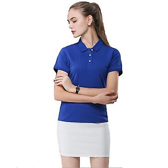 Letní módní polokošile Nové ležérní krátké rukávy slim topy plus velikost ženy