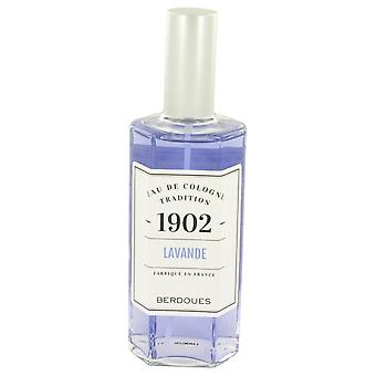 1902 Lavender Eau De Cologne Spray By Berdoues 4.2 oz Eau De Cologne Spray