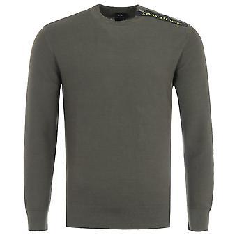 Armani Exchange Crew Neck Sweater - Truffle