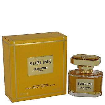 Sublime Eau De Toilette Spray por Jean Patou 1 oz Eau De Toilette Spray