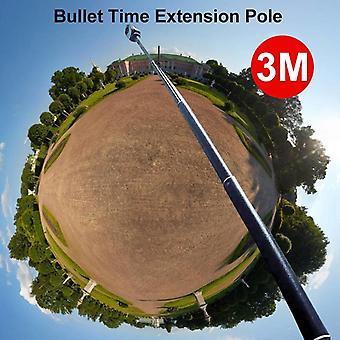 Bâton de selfie monopode en alliage d'aluminium pour Insta360 One Xone X2/dji Osmo