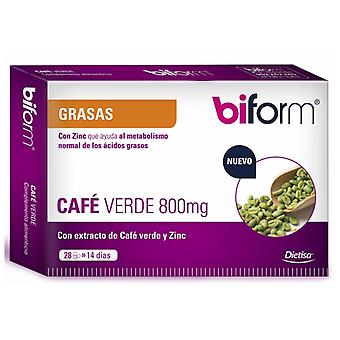 Biform Green coffee 800 mg 28 Capsules