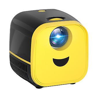 Thundeal PK YG300 Mini LED-projektori - Beamer Home Media Player Theater Cinema Black