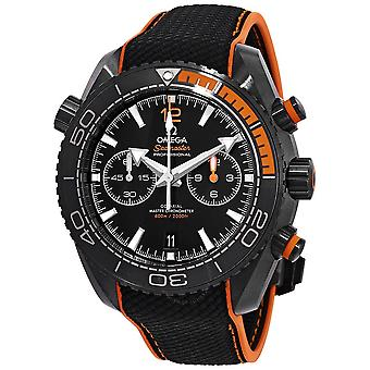 Omega Seamaster Planet Ocean Chronograph Automatic Black Dial Men's Watch 215.92.46.51.01.001