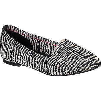 Skechers women's cleo neulesarja slip on loafer monivärinen 32124