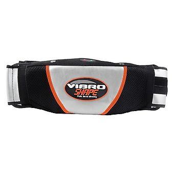Cinturón de adelgazamiento eléctrico vientre estómago waisr entrenador adelgazante cinturón vibroaction cinturón de masaje vibrando cinturón quemador de grasa nuevo
