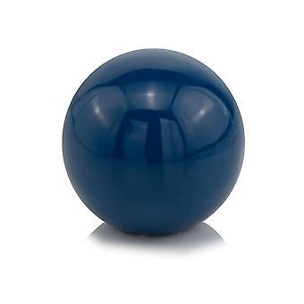 """4"""" X 4"""" X 4"""" Blue Aluminum Classic Sphere"""