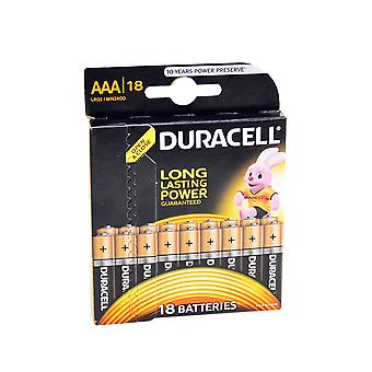 Duracell Alkaline AAA or R3 alkaline 81483686 18bc blister