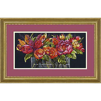 Dimensions Counted Cross Stitch Kit: Flowers of Joy