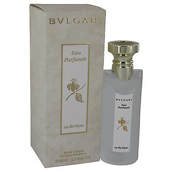 Bvlgari White by Bvlgari Eau De Cologne Spray 2.5 oz