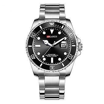 Silver Water Ghost Roestvrij Horloge