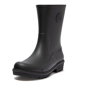 FitFlop Fitflop Wonderwelly™ Short Rubber Boots In All Back