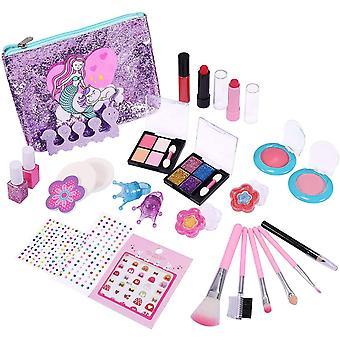 FengChun Kinderschminke Set, Make-up Set fr Kinder 21 Stck Waschbar Kinderschminke Set Rollenspiel