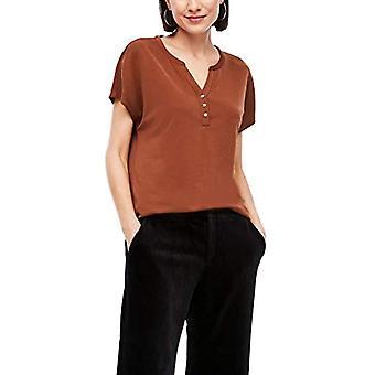s.Oliver 120.10.009.12.130.2060549 T-Shirt, Cognac, 40 Woman