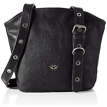 Fritzi aus Preussen Elfi Crossbody Small, Women's Folder Bag, Black, One Size
