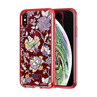 Tech21 Pure Print Liberty Christelle Protective Case for Apple iPhone X/iPhone Xs - Red