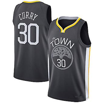Stephen Curry Golden State Warriors #30 Mens Royal Blue Road Icon Edition Swingman Basketball Jersey