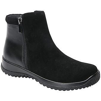 Drew Shoe Kool 19178 Women's Casual Boot Leather Zipper