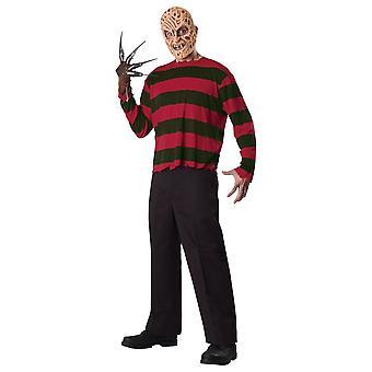 Nightmare On Elm Street Mens Freddy Krueger Costume