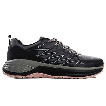 Hi-Tec Trail Destroyer Womens Trail Running Trainer Shoe Grey/Black/Pink
