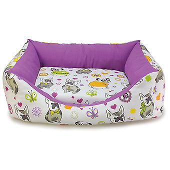 Arquivet Bulldog Square Bed for Dogs (Dogs , Bedding , Beds)