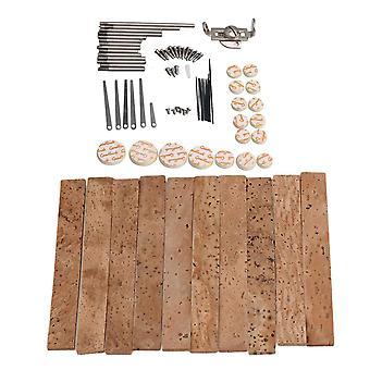 Pour kit d'outils de réparation de matériaux métalliques avec bouchons sax pour instrument à vent WS4687