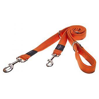 Rogz Lumberjack Multi Orange Talutushihna (Koirat, kaulukset, liidit ja valjaat, liidit)